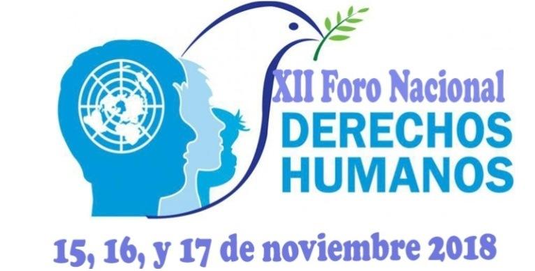 Foro nacional por los derechos humanos, defender la vida, construir la paz